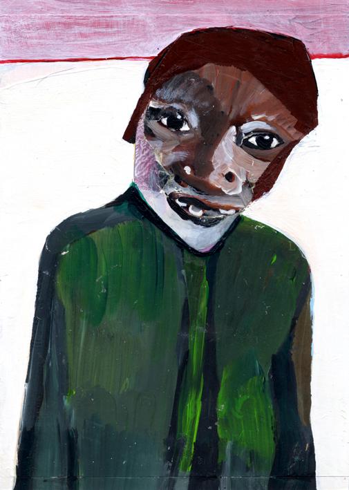 observismus, observism, heiko hoefer, Jacket, acrylic on paper, 2017