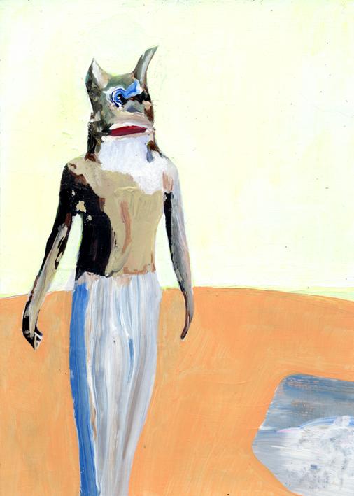 observismus, observism, heiko hoefer, Observist, acrylic on paper, 2017