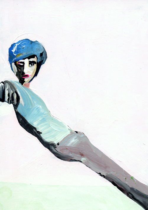 observismus, observism, heiko hoefer, Virtù, acrylic on paper, 2017