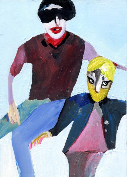 observismus, observism, heiko hoefer, Smart Alec, acrylic on paper, 2017