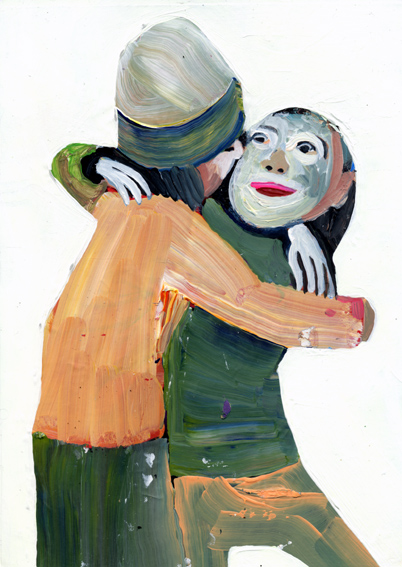 observismus, observism, heiko höfer, Humanist art, acrylic on paper, 2018