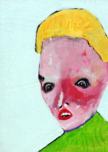 heiko höfer, Lifestyle, acrylic on paper, 2020